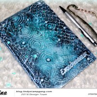 Mixed-Media Notebook by Ekaterina Zenevich
