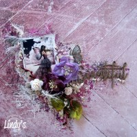 Beautiful Mixed Media Layout with Mary Catt