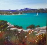 SOLD Sailing by. Sardinia