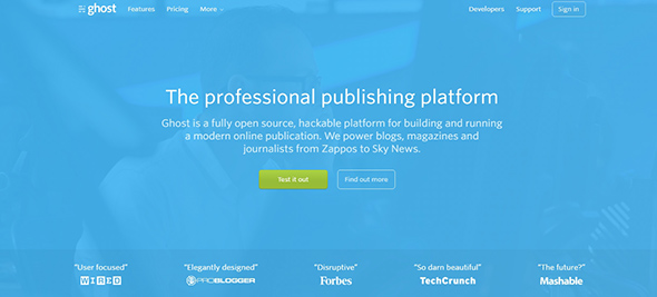 Ghost - The Professional Publishing Platform