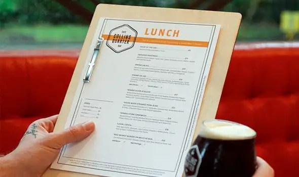 45 Menu Design Projects For Creative & Fun Restaurants