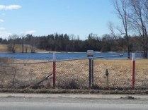 East side of Moira River crossing in Belleville