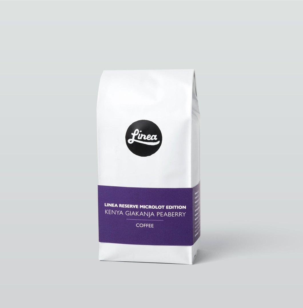 Linea Caffe Kenya Giakanja Peaberry Coffee