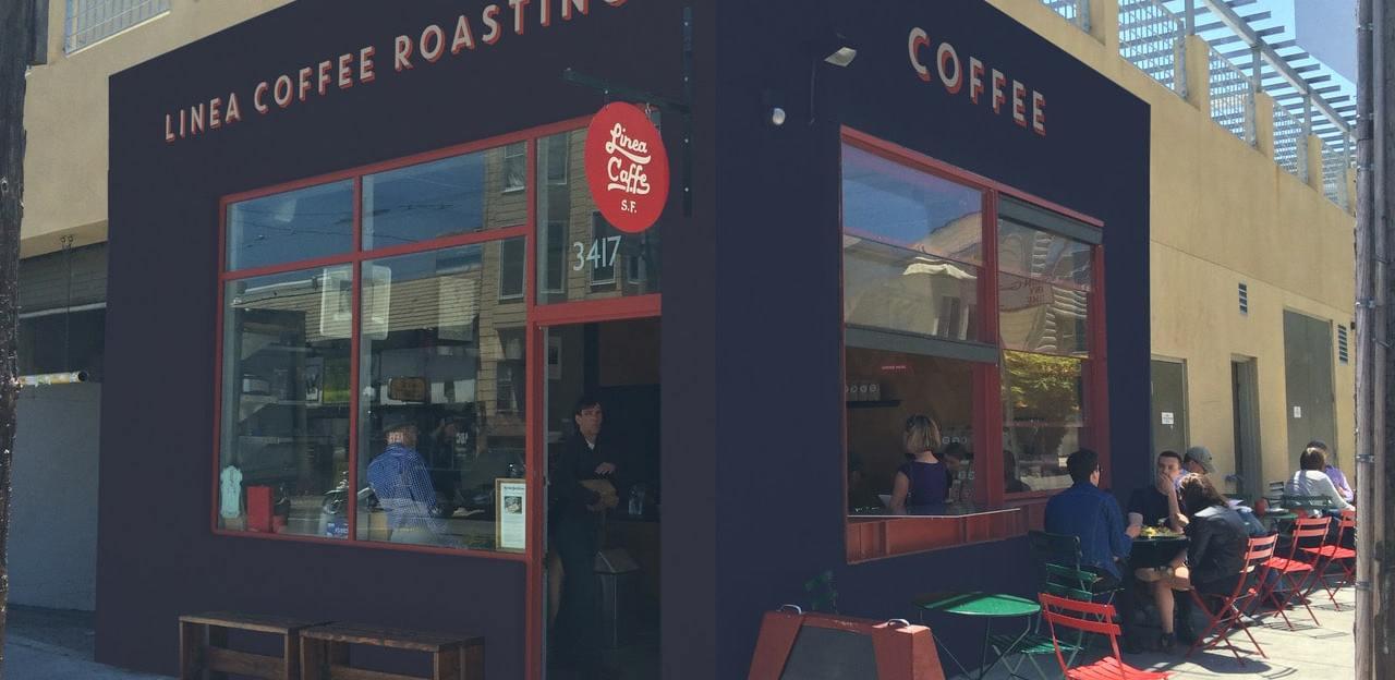 Linea Cafe's exterior