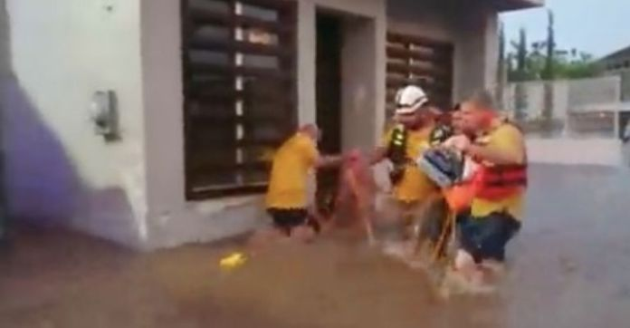 From fire to water!  Julio, Lavid and Ramón, heroes of Culiacán;  save two lives in record time