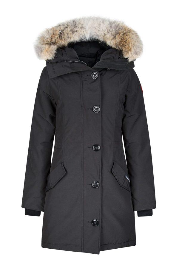 Canada Goose Women' Rossclair Parka Black - Linea Fashion