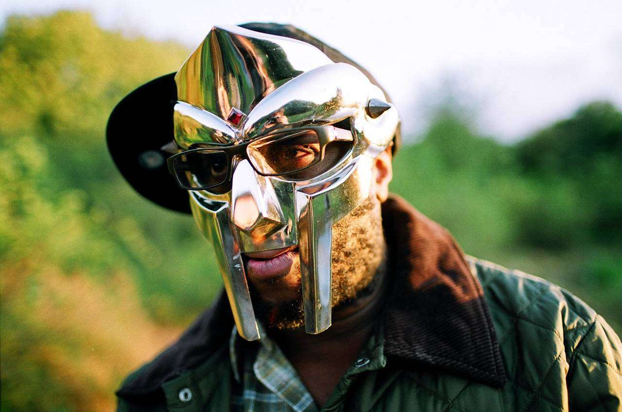 MF DOOM: ALL CAPS when you spell the man name