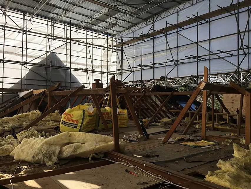 Linear Building Contractors conversion project