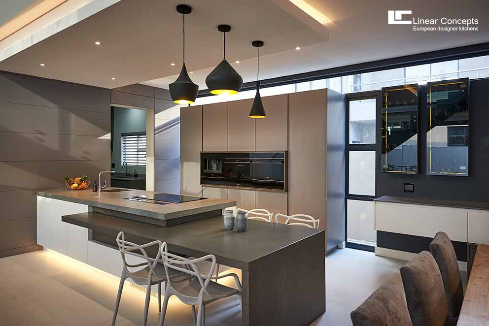 designer kitchen cabinet layouts linear concepts european kitchens south africa view detail