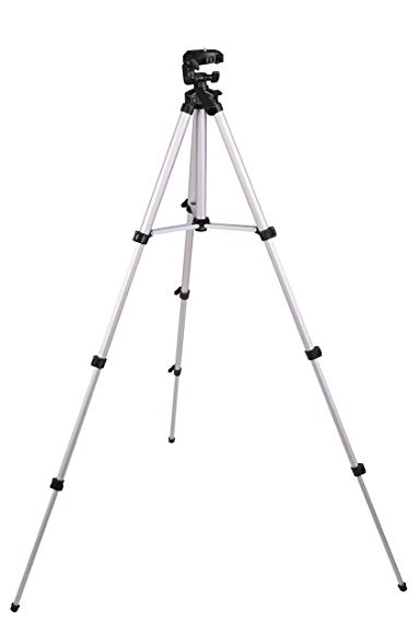 Johnson Level & Tool 40-6796 Elevating Tripod with 1/4