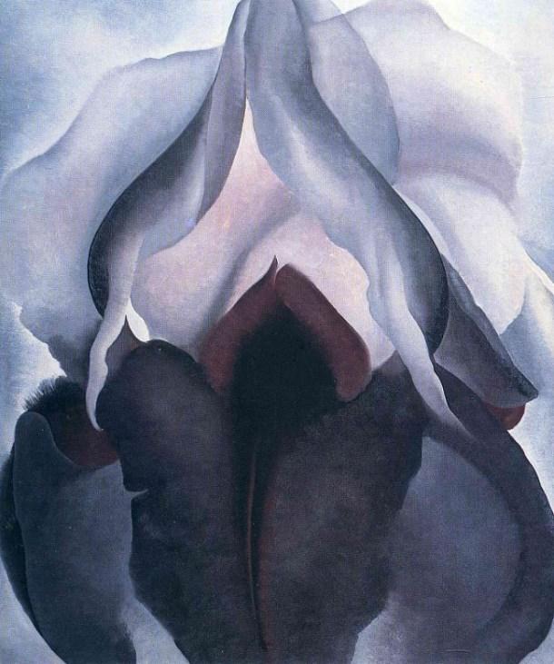 Lirio negro III O'Keeffe georgia