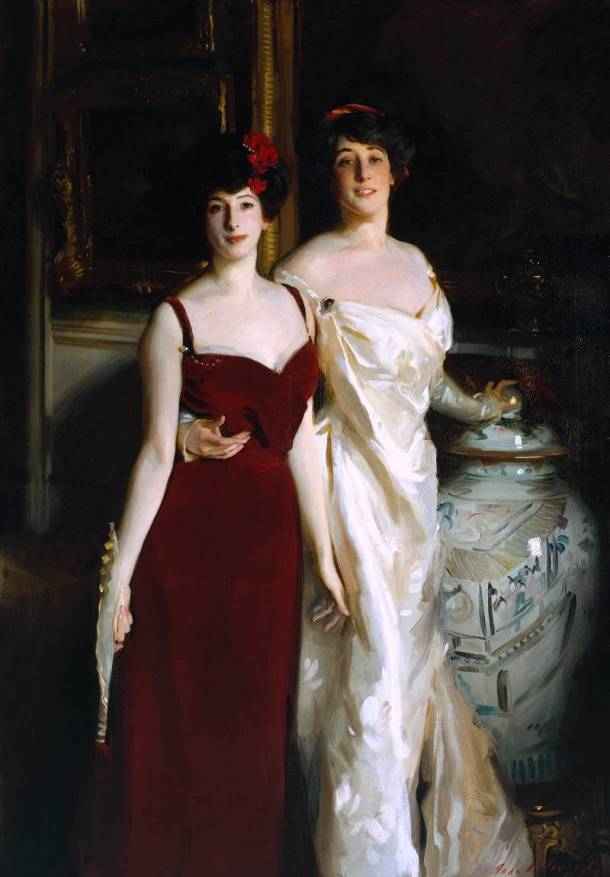 """Ena y Betty, hijas de Asher y Mrs. Wertheimer"", 1901."
