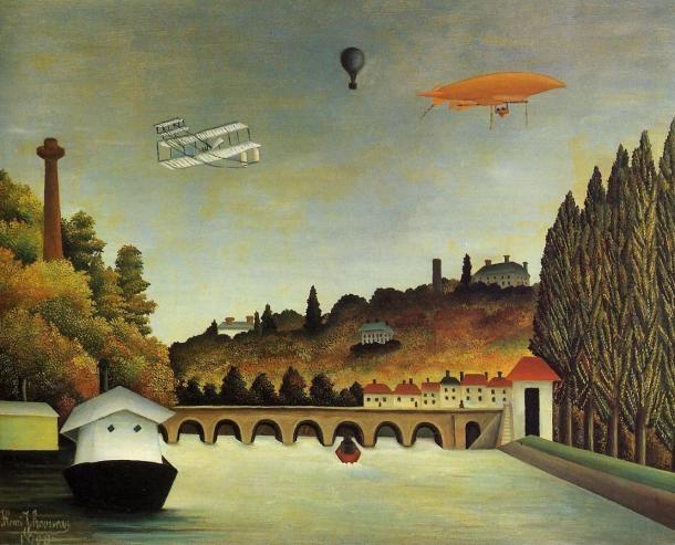 """Rousseau """"El puente de Sèvres"""" (1908)."""