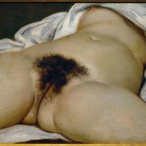 """""""El origen del mundo"""", de Gustave Courbet (1866)."""