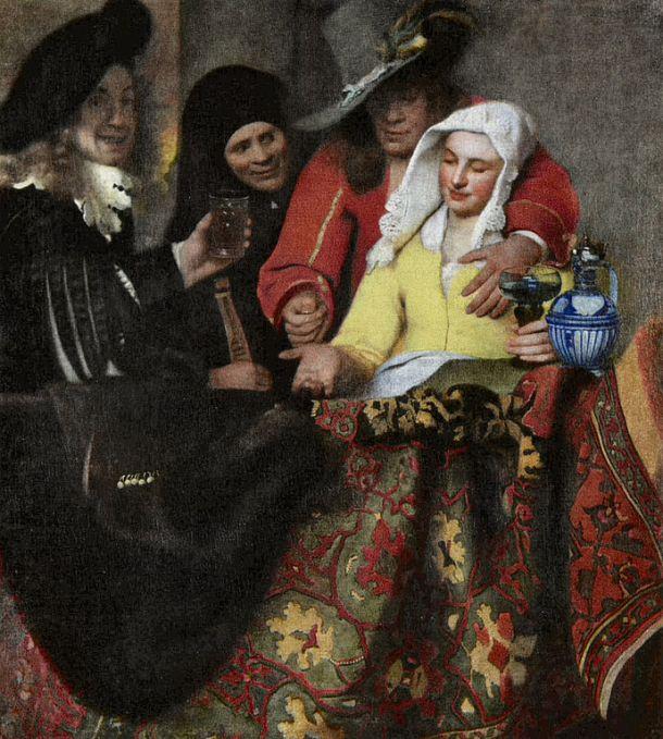 la alcahueta 1656