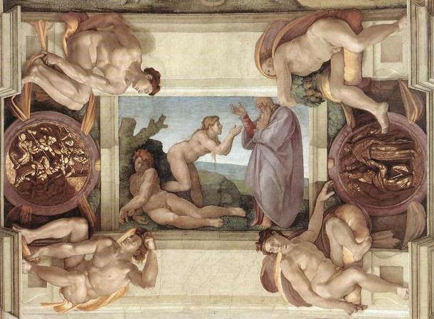 La creación de Eva.