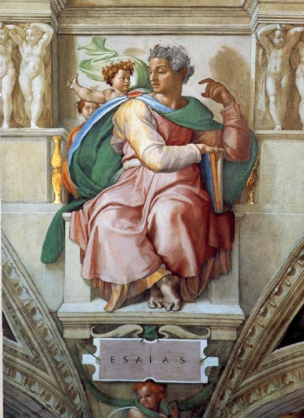 El profeta Isaías.