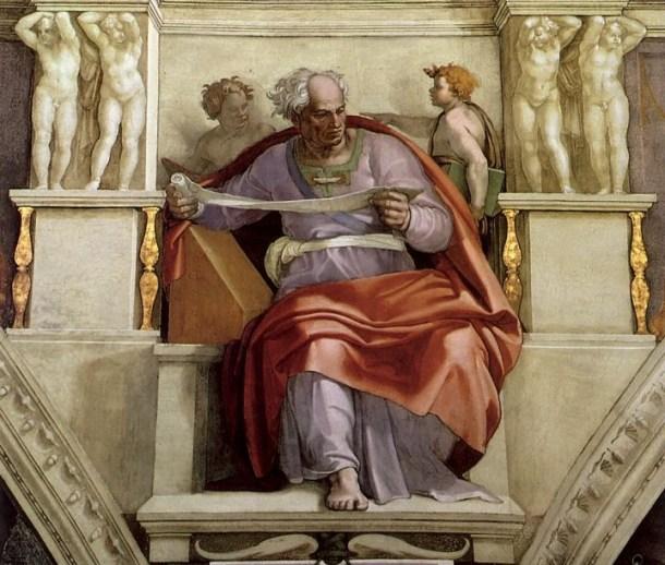 El profeta Joel.