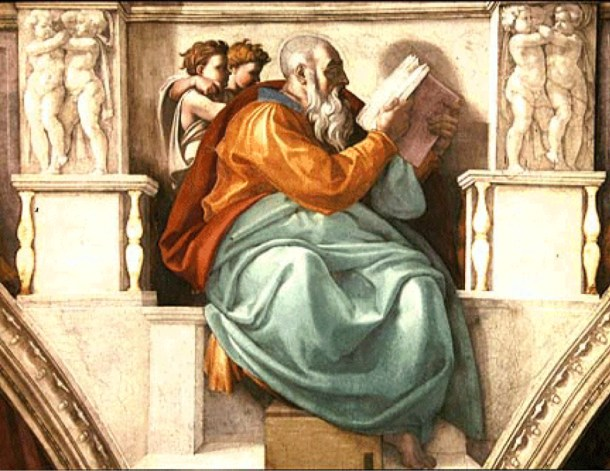 El profeta Zacarías.