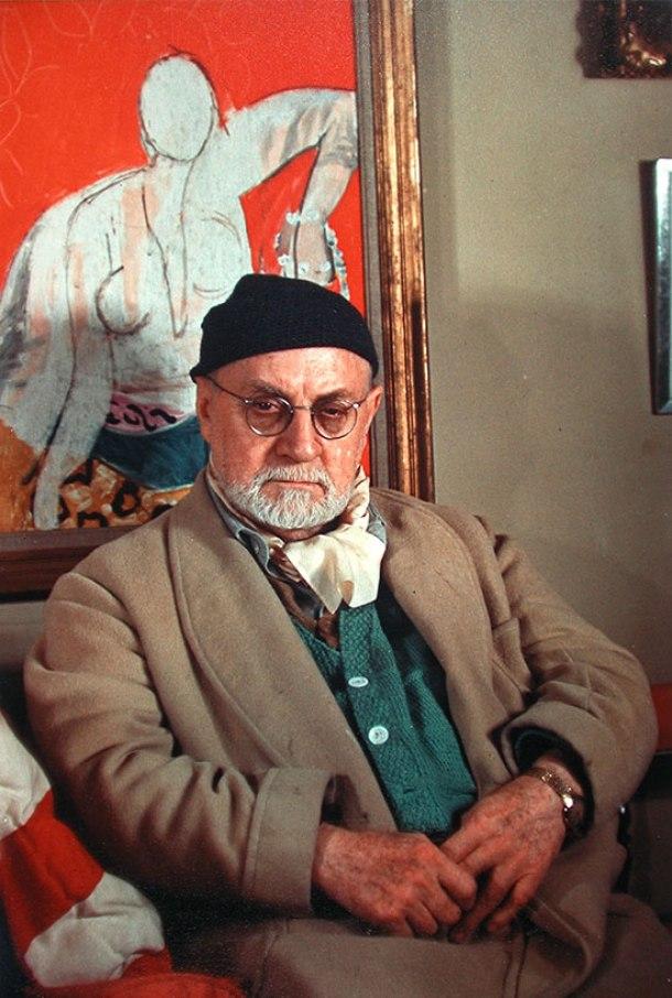Henri Matisse, 1948.