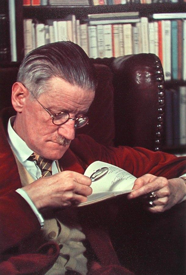 James Joyce, 1939.