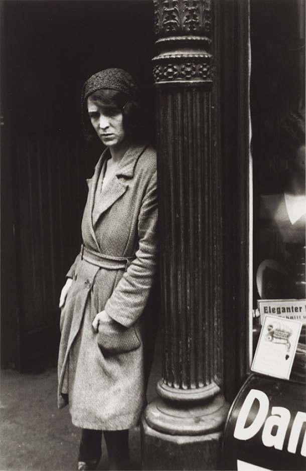 Prostituta del Barrio Viejo de Frankfurt, 1929.