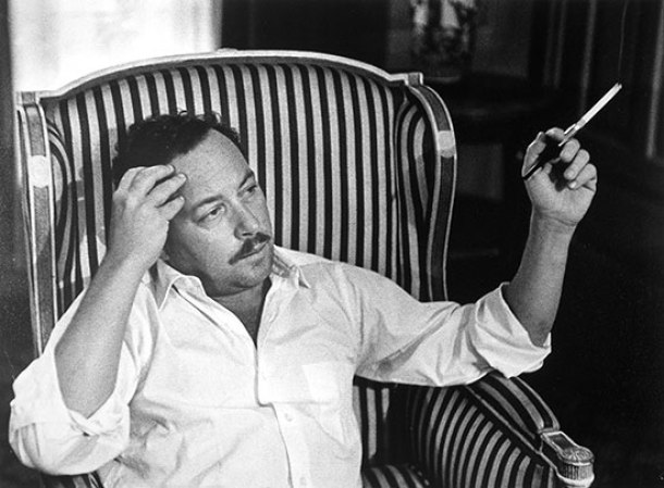 Tennesse Williams, 1959.