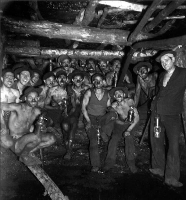 mineros doisneau