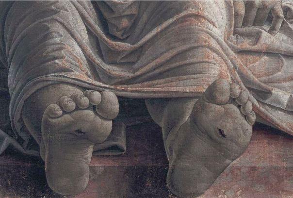 Pies Mantegna