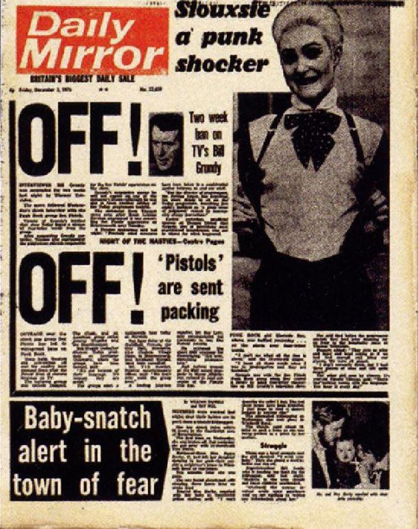 Sex Pistols Siouxsie