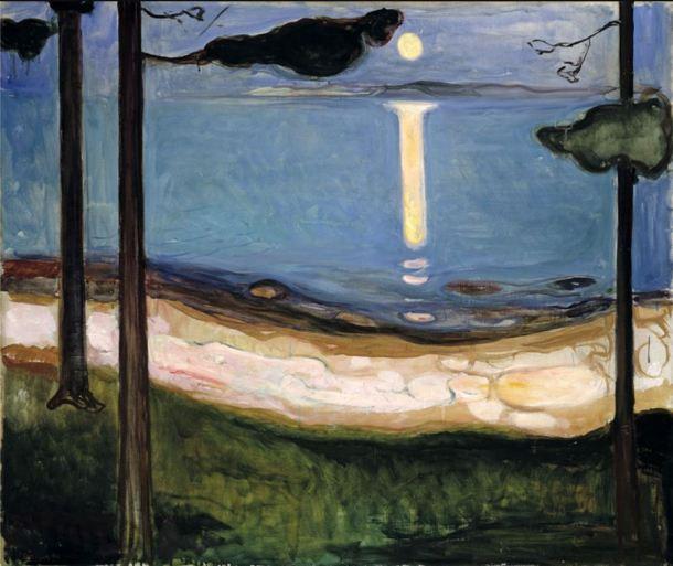 Munch Claro de luna 1895