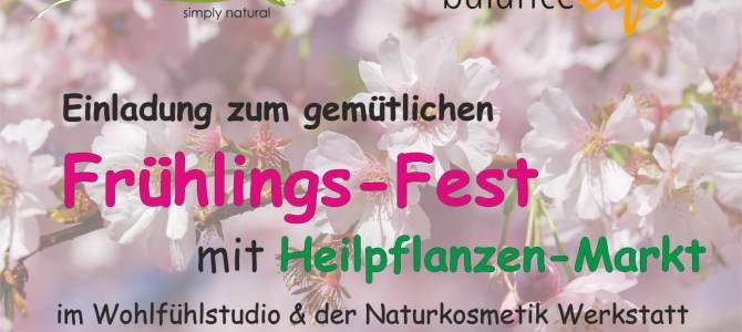 Frühlingsfest und Heilpflanzen Markt