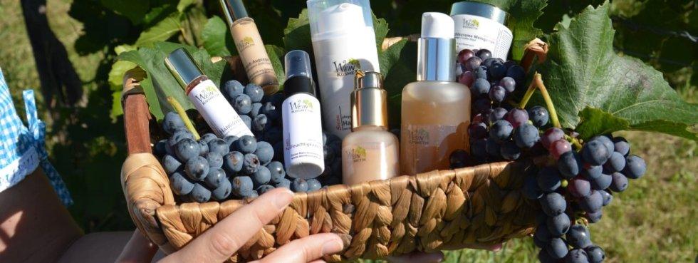 Die LineaVerde Weinkosmetik Serie im Weingarten