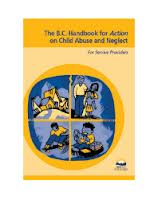 BC Handbook for Action on Child Abuse and Neglect
