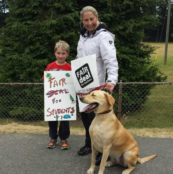 On the ine at Frank Hobbs: Fair deal for kids