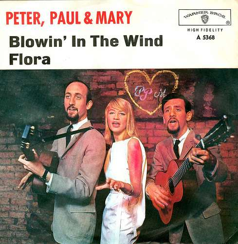 Peter Paul and Mary-Blowing in the wind