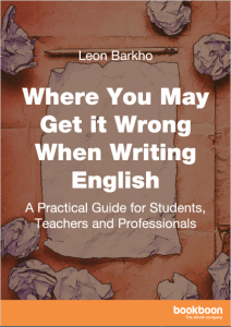 Where You May Get It Wrong When Writing English Ebook