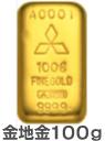 金地金100g