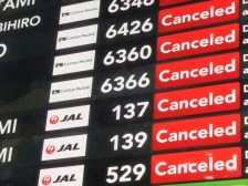 飛行機の欠航、遅延などトラブルに備える!