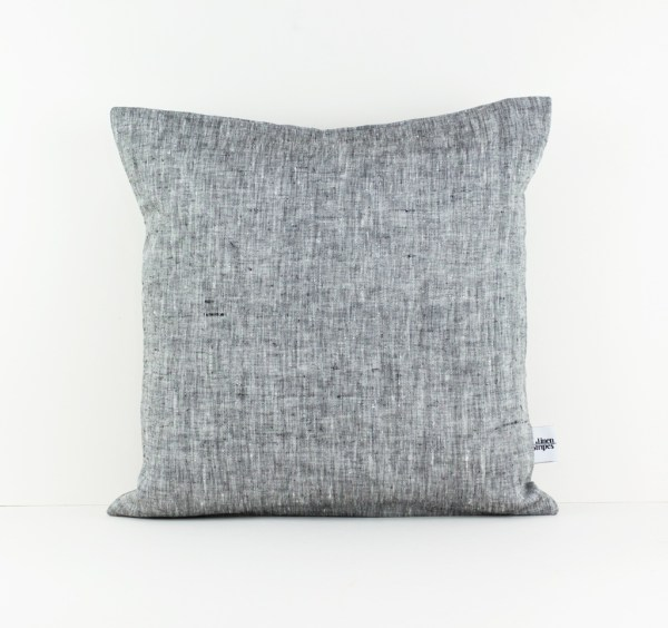 Grey Europe pillow case Grey linen pillow Gray pillow Euro sham Grey throw pillow Decorative pillows for bed European pillow case 1 1
