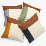 Linen and Stripes leather color retro all together 1