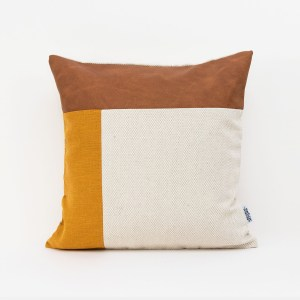 Linen and Stripes leather color retro mustard1