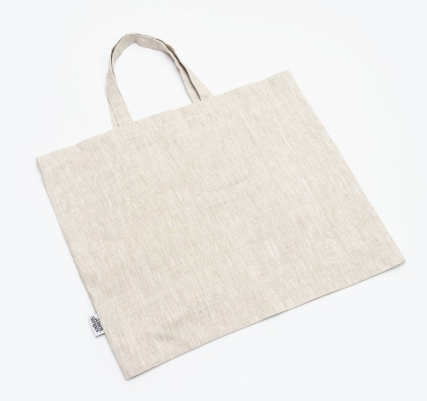 Linen and Stripes linen tote bags beige1