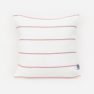 Red cotton line linen and stripes1