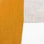 mustar plain geometric linen and stripes3