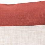 red plain geometric linen and stripes4c