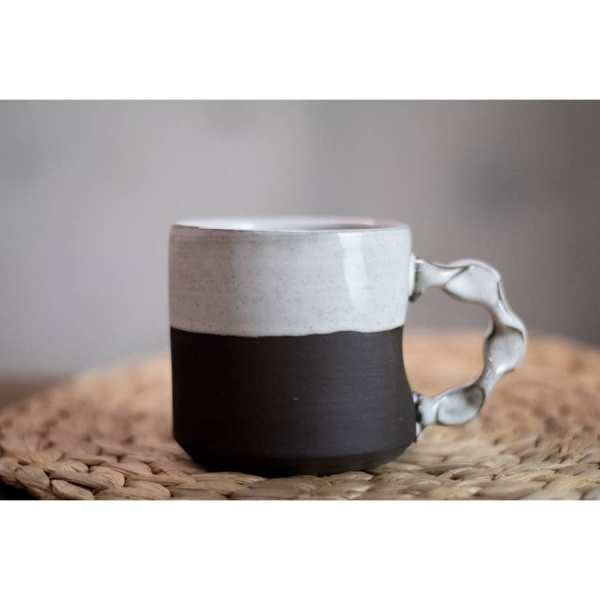 Rebecca Graves Pottery Home Page - The Carriage House Coffee Mug