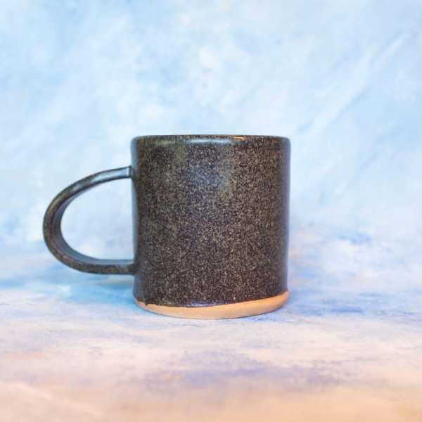 Pineapple Studios - Speckled Brown Camp Mug