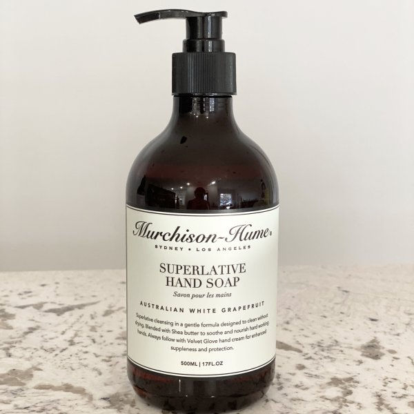 Murchison-Hume (Japanese Quince)- 17oz Superlative Liquid Hand Soap