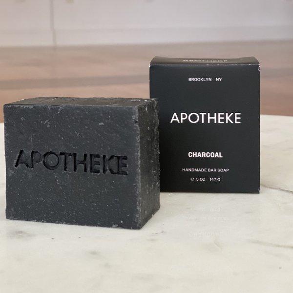 Apotheke - Charcoal Bar Soap 5 oz
